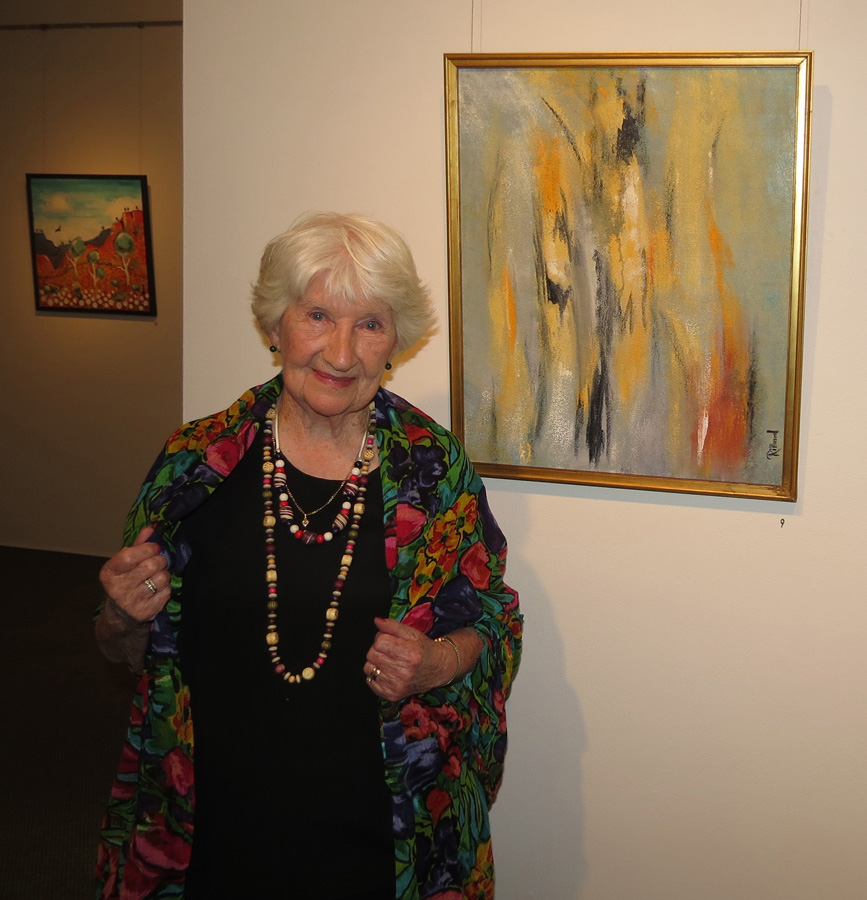 9. Trudy Smith at the Rillawood opening night