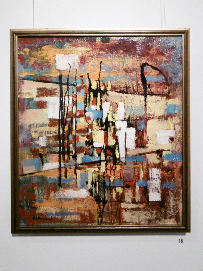 18. 'Passage of Time', Trudy Smith, acrylic on canvas, $380