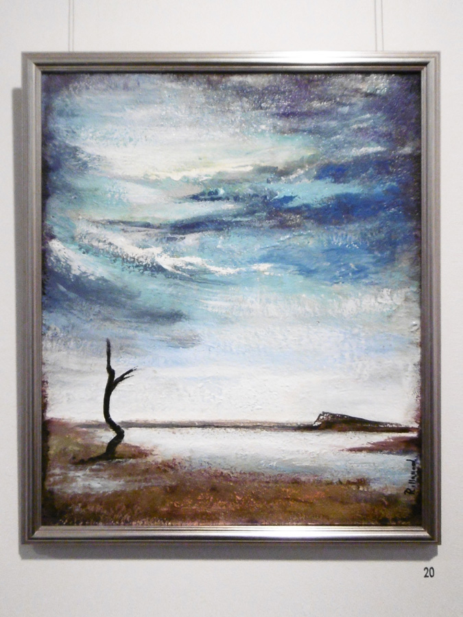 20. 'The Sky Above', Trudy Smith, acrylic on canvas, $380