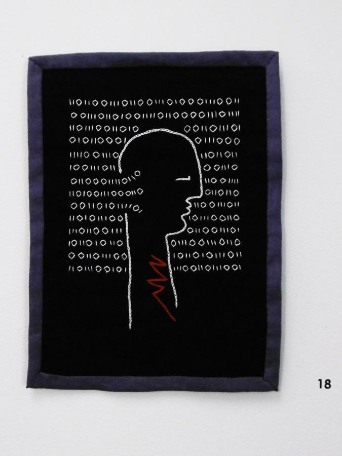 18. 'Untitled', Anne Williams, cotton, linen, $90