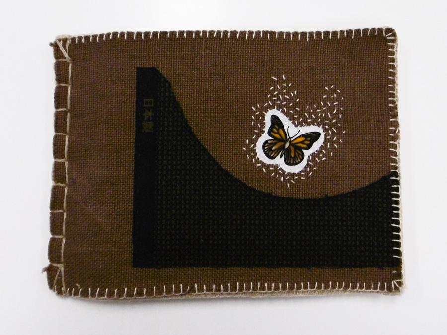 28. 'When Old Age Comes', Anne Williams, linen, cotton, $130