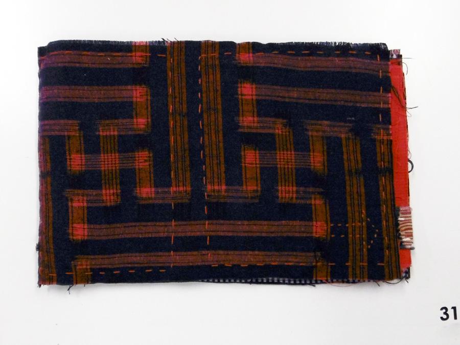 31. 'Untitled', Anne Williams, antique silk kimono, cotton, $80
