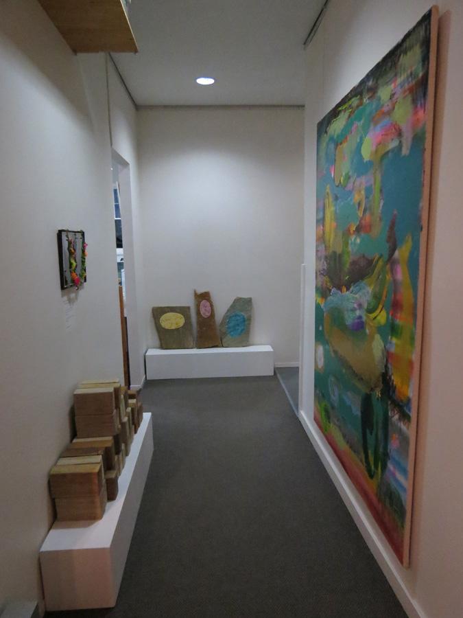 20. 'Stepping Stones', Antony Muia, corridor view