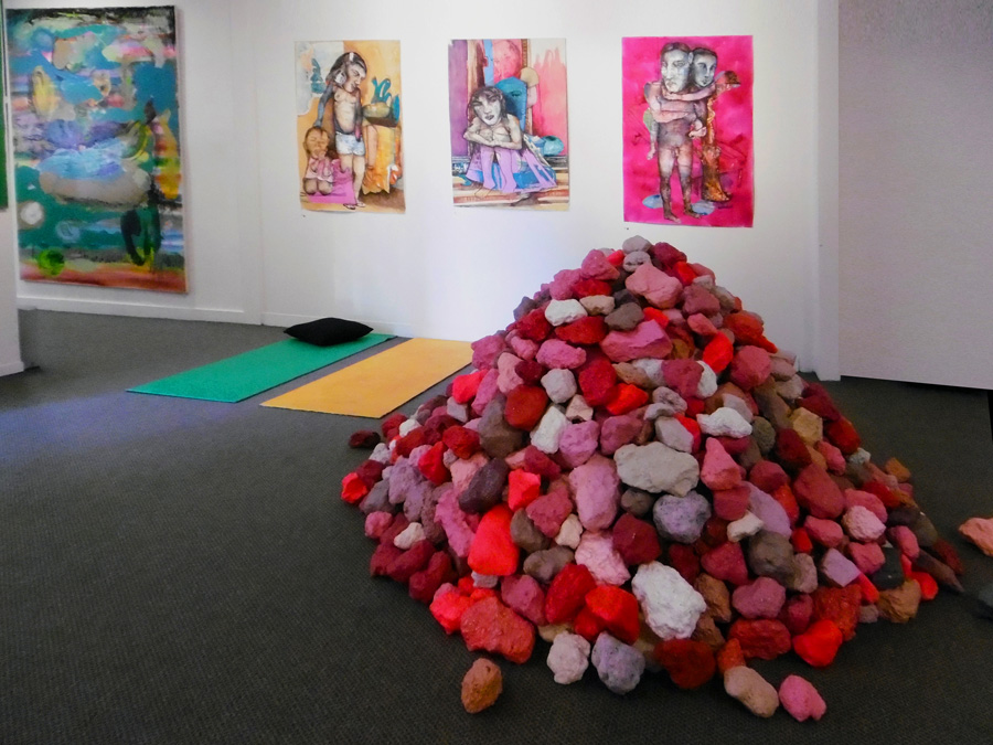 'Stepping Stones', Antony Muia, south-east gallery view