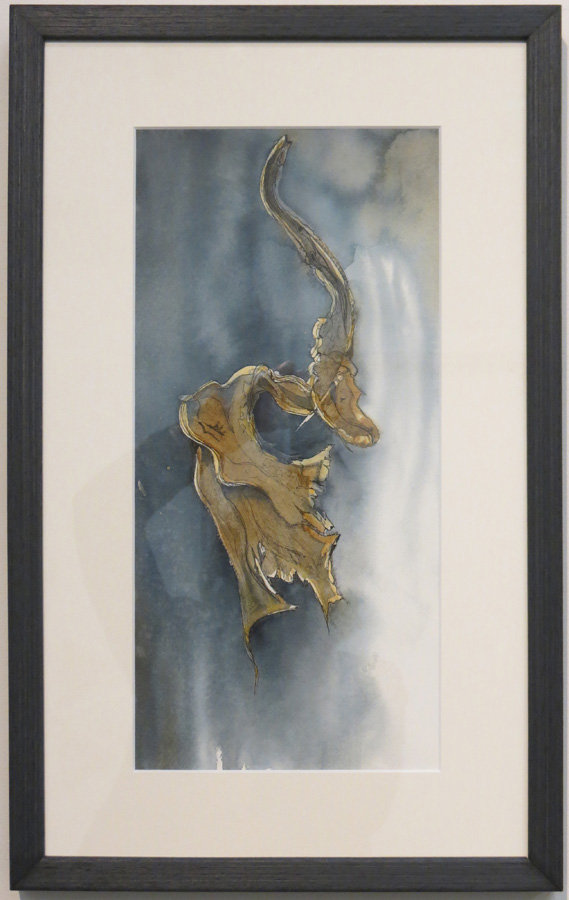 3. 'Into the Unknown', Caroline Lyttle, watercolour and ink, $450