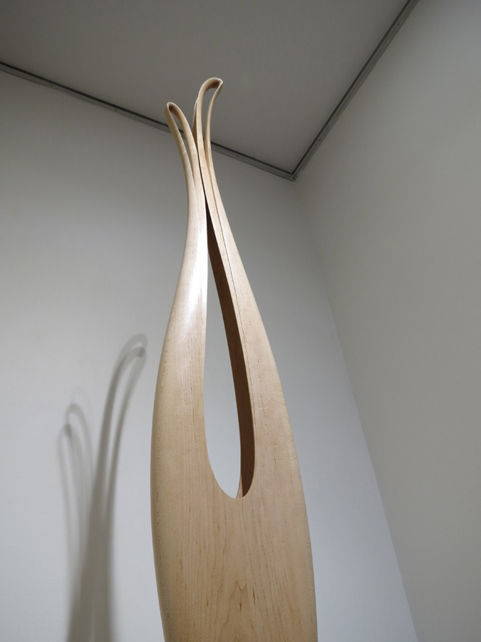 2. 'Ascension' (detail), Nick Statham, Rock Maple, Marri, $9,500