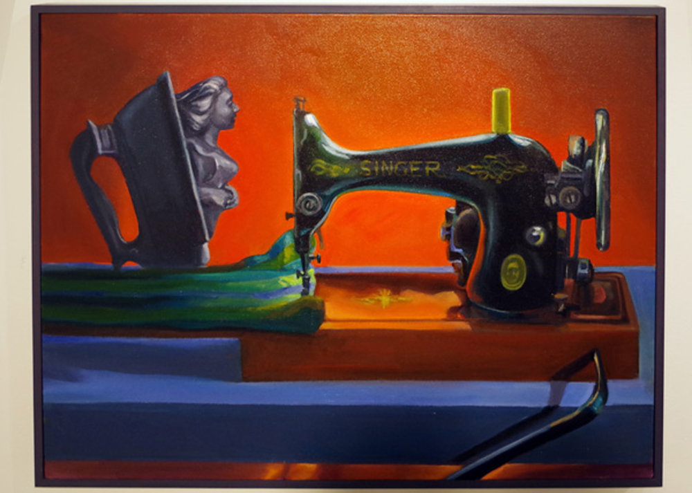 13. 'Luxury Items', Judith Forrest, oil on canvas, $2,500