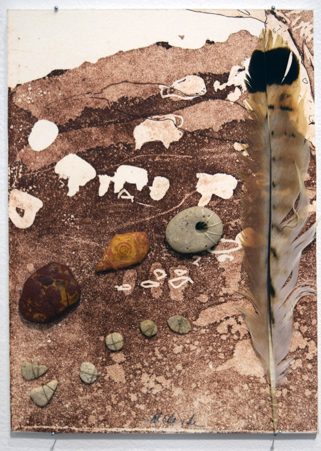 11. Helen Clarke, 'Tied Up 4', print, found objects