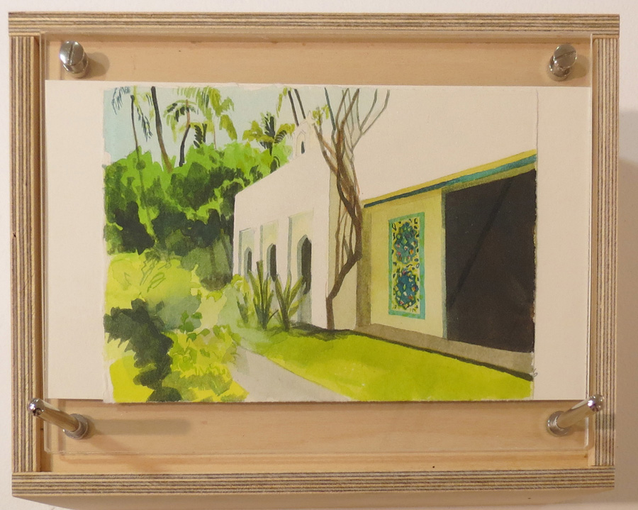 13. Fiona Harman, 'Shangri La', watercolour, gouache on paper
