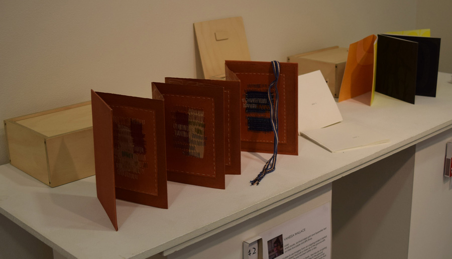 Tied Up With String  - Artists Books by Anne Williams, Vanessa Wallace and Moira Court
