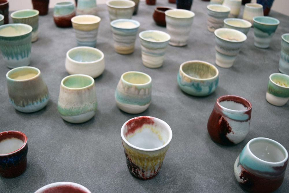 Annemieke Mulders 'T  eapots and B  eakers', ceramic