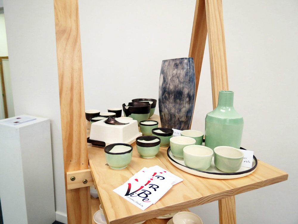 D enise and Patrick Brown VIBE Ceramic Studio 'Tablewares'