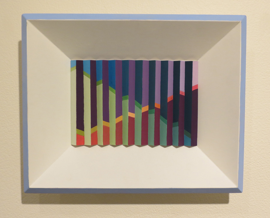 28. 'Arpeggios', Sarah Thornton-Smith, gouache on paper, framed, $360