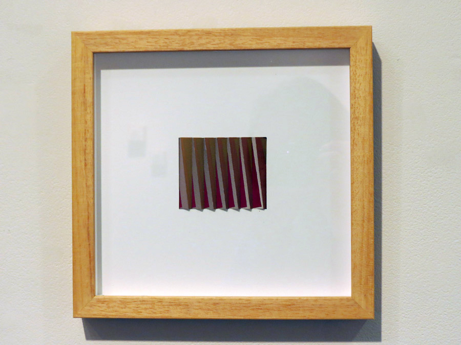43. 'Twist', Sarah Thornton-Smith, gouache on paper, framed, $340