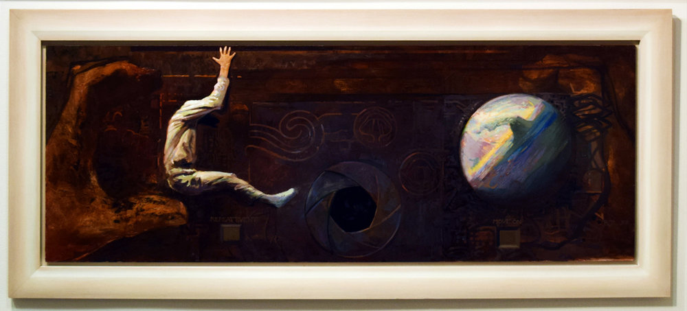 11. Ben Joel, 'Repeat Event', 1997, oil on board, $2,450