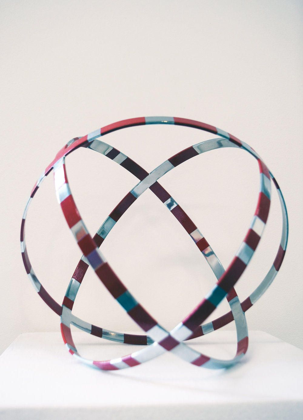 40. Angela McHarrie, 'Mean Time', 2011, stainless steel, enamel paint, NFS