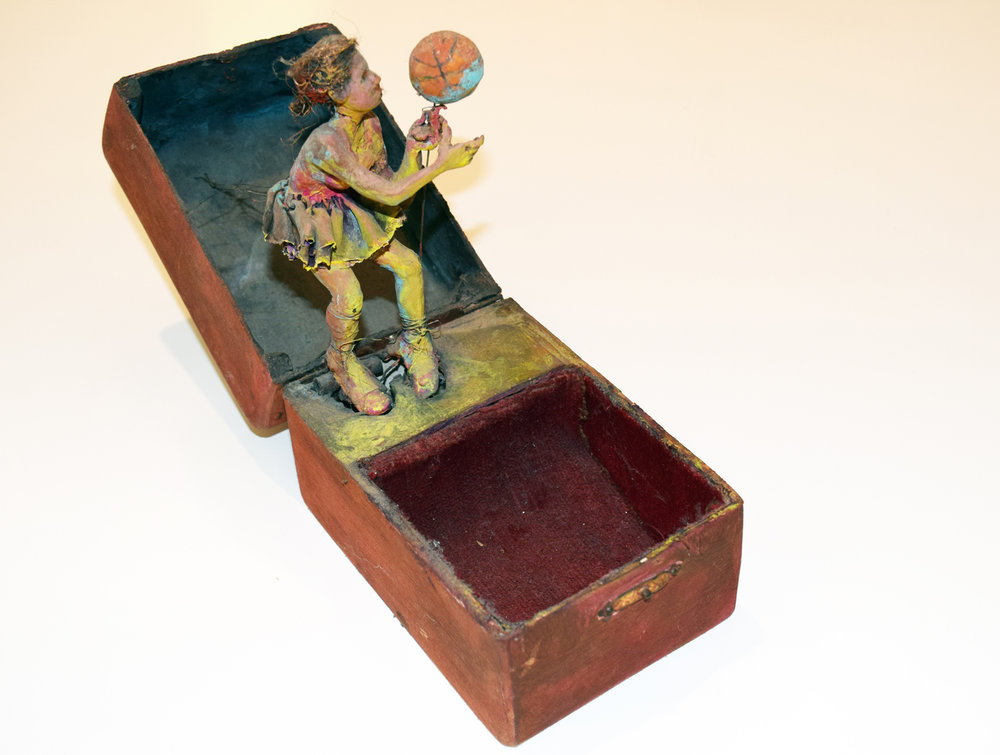 45. Gina Moore, 'Music Box', 1993, mixed media, NFS