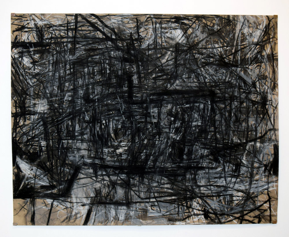 48. Bevan Honey, 'Untitled', 1989, charcoal and pastel on paper, NFS