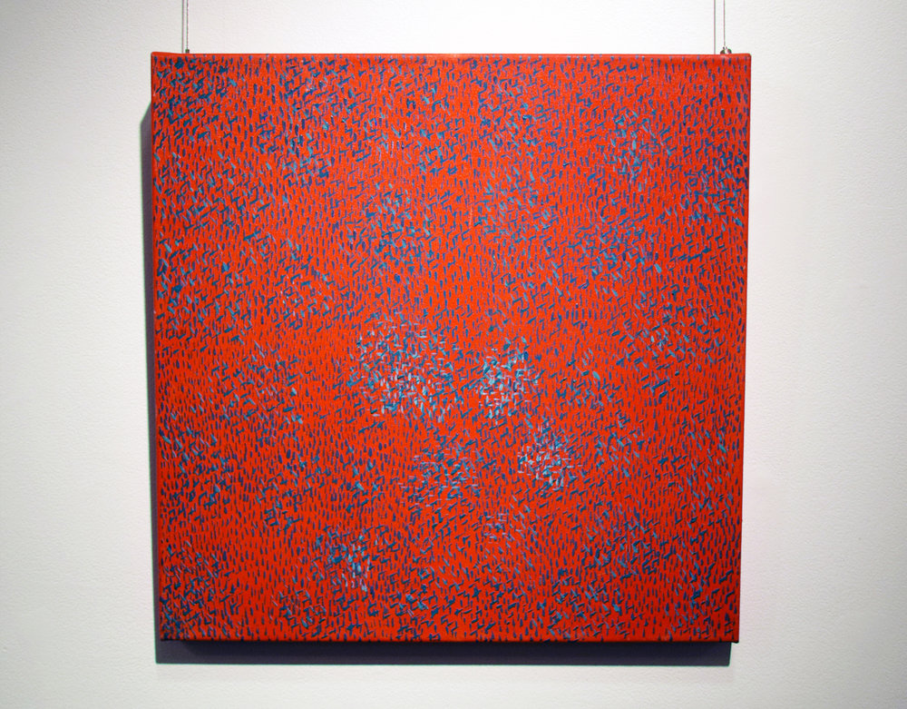 6. Dragica Milunovic, 'Marks Series 3 (No. 25)', 2010, oil on canvas, $1,100