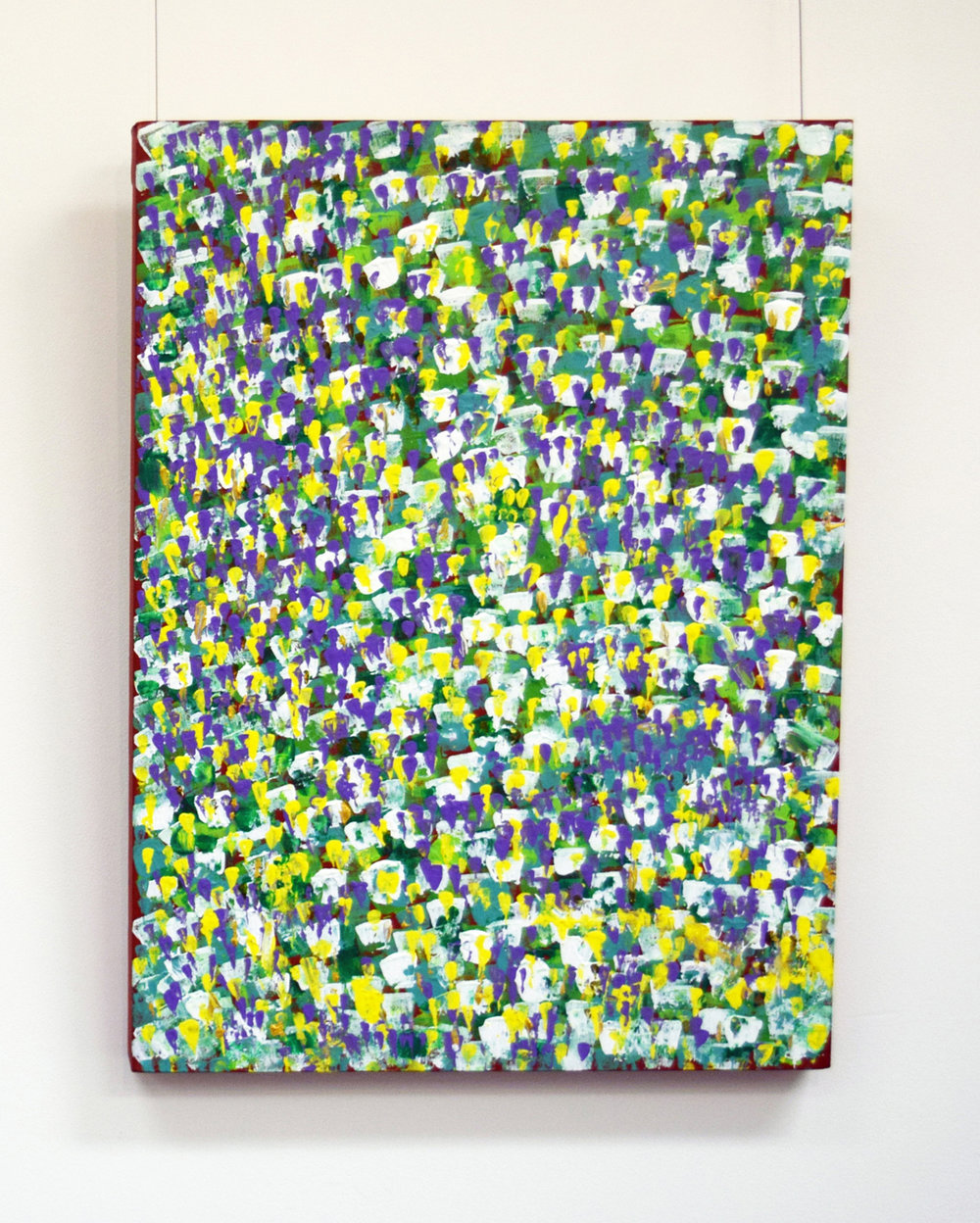 6. Sherryl Green, 'Meadows', 2015, acrylic on Belgian linen, $1,400.jpg