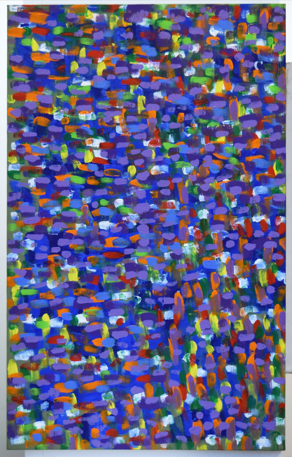 15. Kevin Merritt, 'Nature's Kaleidoscope of Colour', 2015, acrylic on Belgian linen, $1,400.jpg