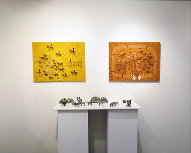 Habits of Horses gallery view - Jan Griffiths works