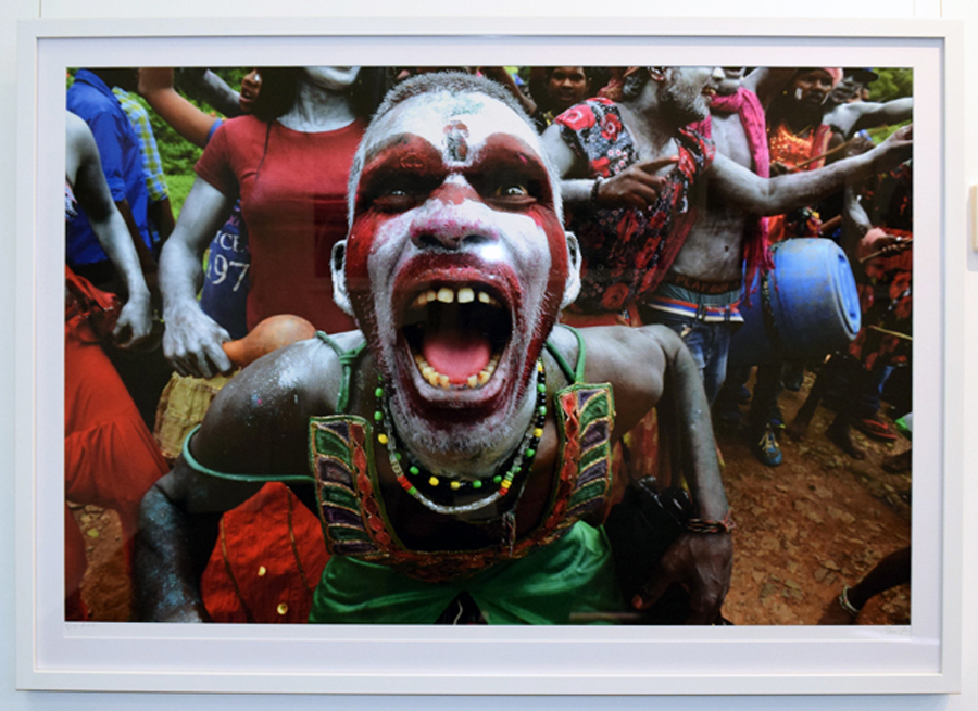 1. Clare Arni, Untitled (Kunde Festival), 61 x 91 cm unframed, $1,190
