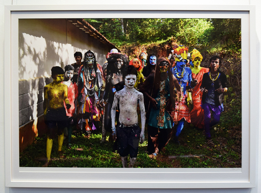 2. Clare Arni,Untitled (Kunde Festival), 50 x 76 cm unframed, $990