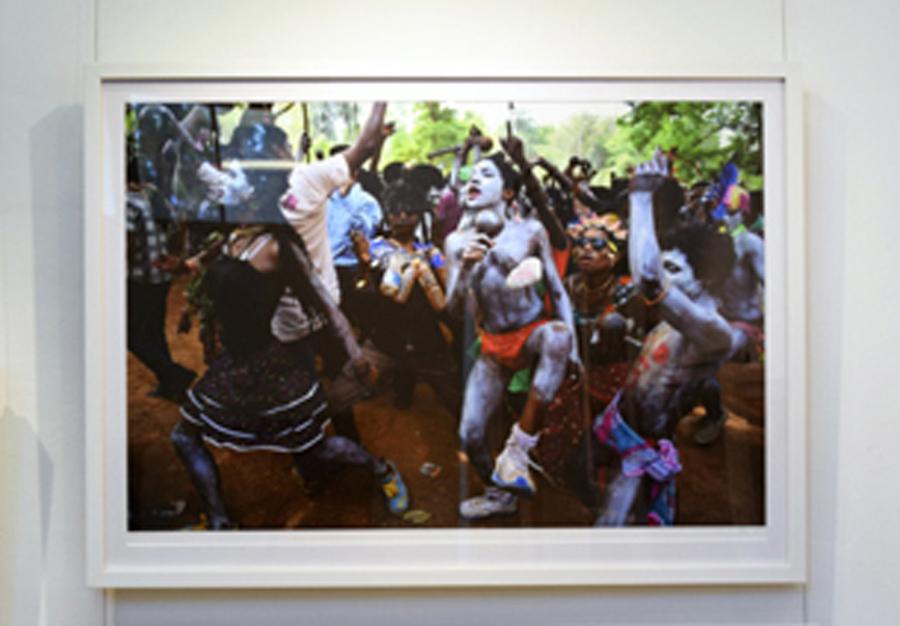 5. Clare Arni,Untitled (Kunde Festival),50 x 76 cm unframed, $990
