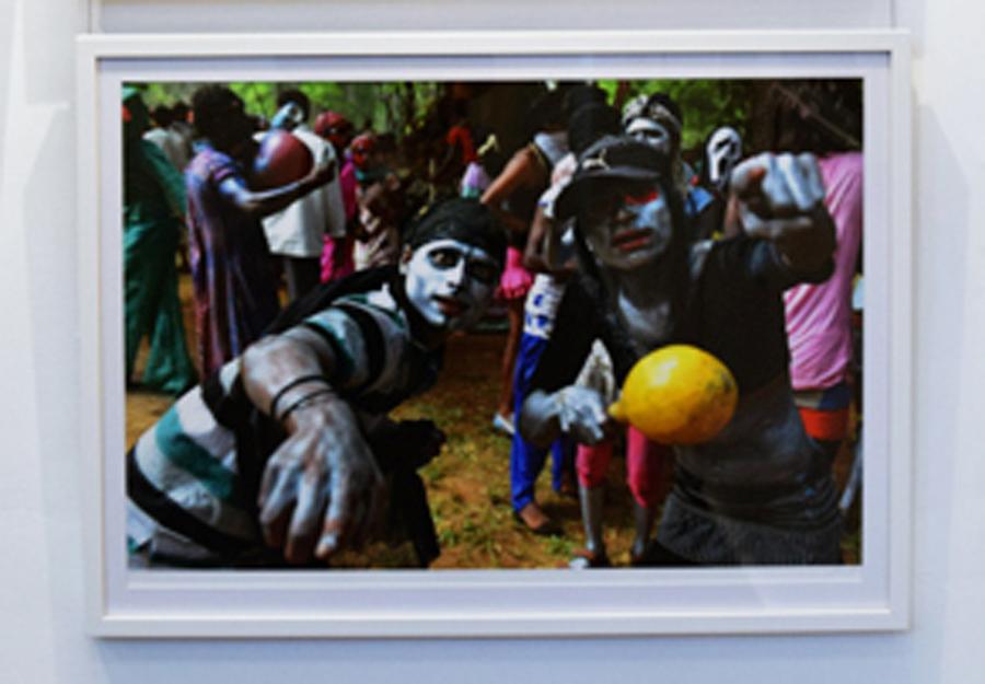 6. Clare Arni,Untitled (Kunde Festival), 50 x 76 cm unframed, $990