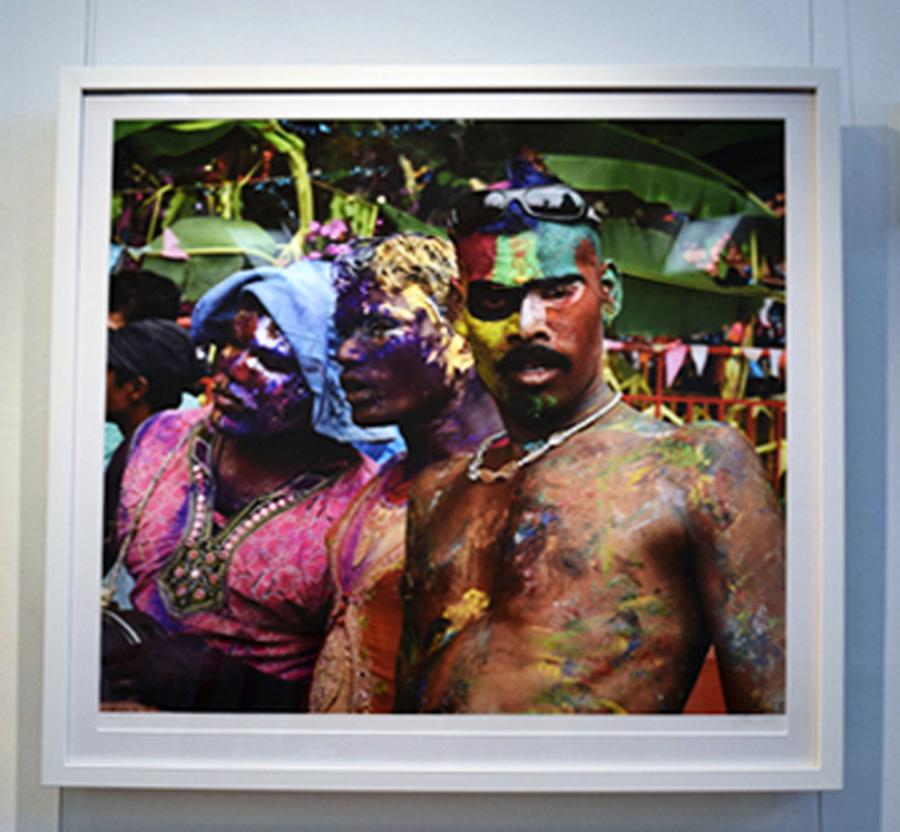 9. Clare Arni,Untitled (Kunde Festival), 61 x 61 cm unframed, $790