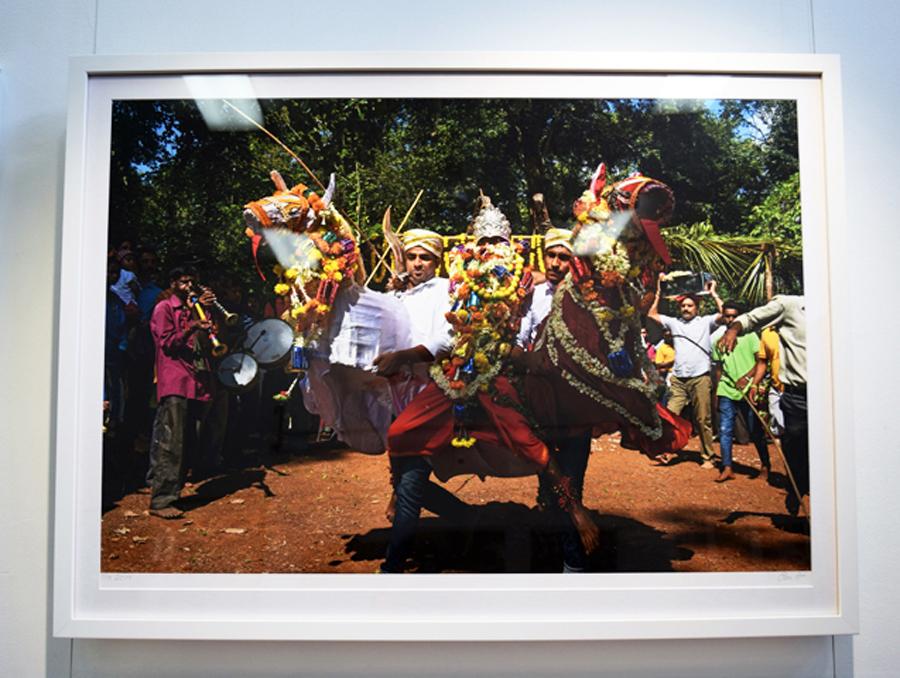 11. Clare Arni,Untitled (Kunde Festival), 50 x 76 cm unframed, $990