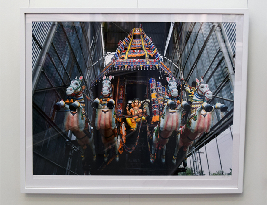 14. Clare Arni, Untitled (Horse God Chariots), 61 x 91 cm unframed, $1,190