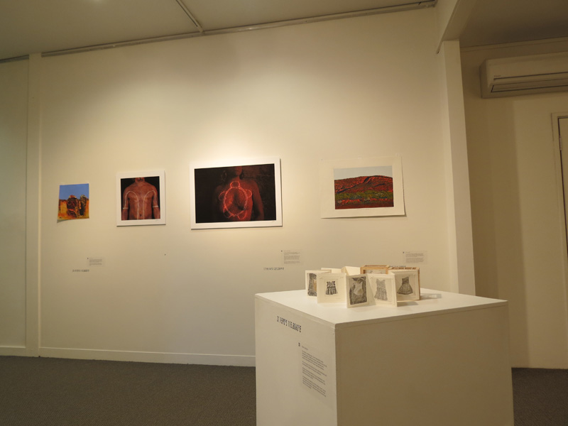 Gallery south wall view