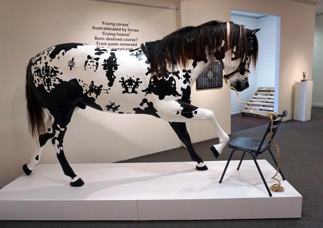 7. Matt McVeigh, A Horse on Course.jpg