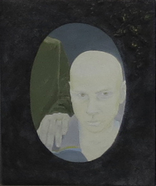 12. Peggy Lyon, 'Someone Else's Family', Acrylic, mixed media on board, 2009, 23 x 19 cm, $325