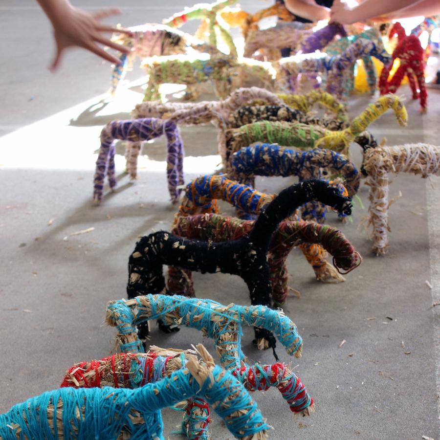 Image: Gidgegannup Primary School Hay Horses