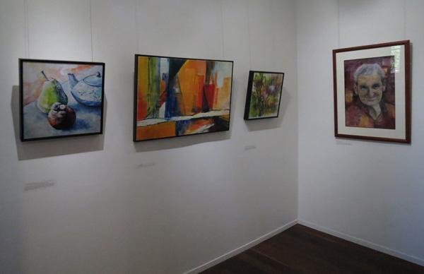 Karen Frankel, Drawn, gallery view