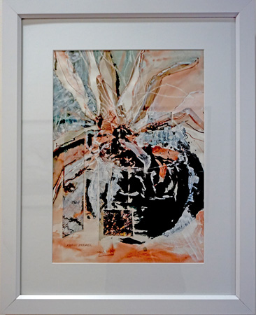 27. Karen Frankel, 'Pot Plant', 2012, Mixed media on paper, 76.5 x 61.5cm, $500