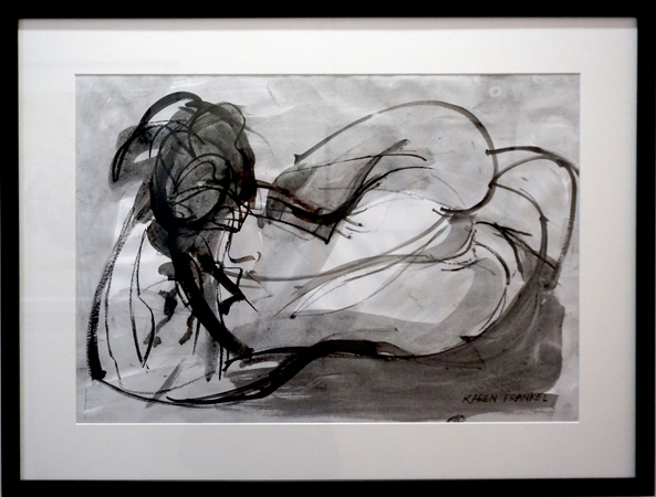 30. Karen Frankel, 'Nude 2', 2012, Charcoal and ink on paper, 64 x 57cm, $300