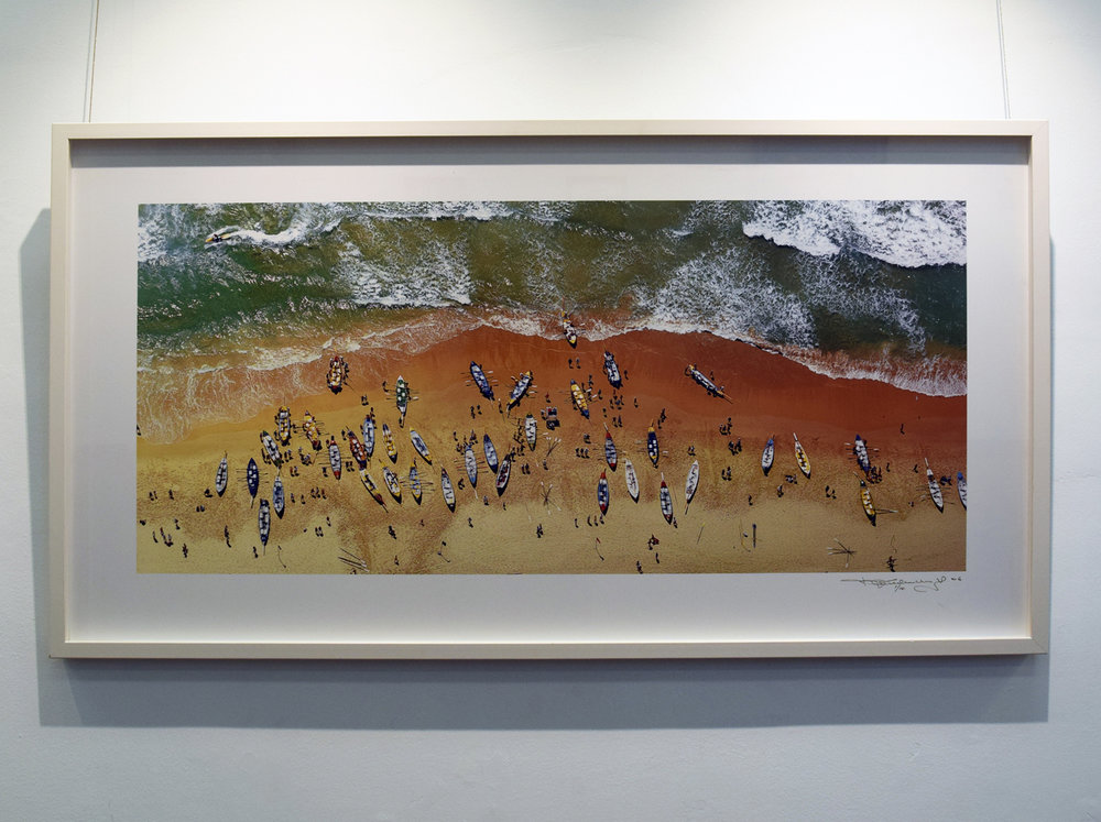 3. Richard Woldendorp AM,  Surf Lifesaving Regatta, Manly, NSW,  2006, framed Archival Inkjet colour photograph, $2,200