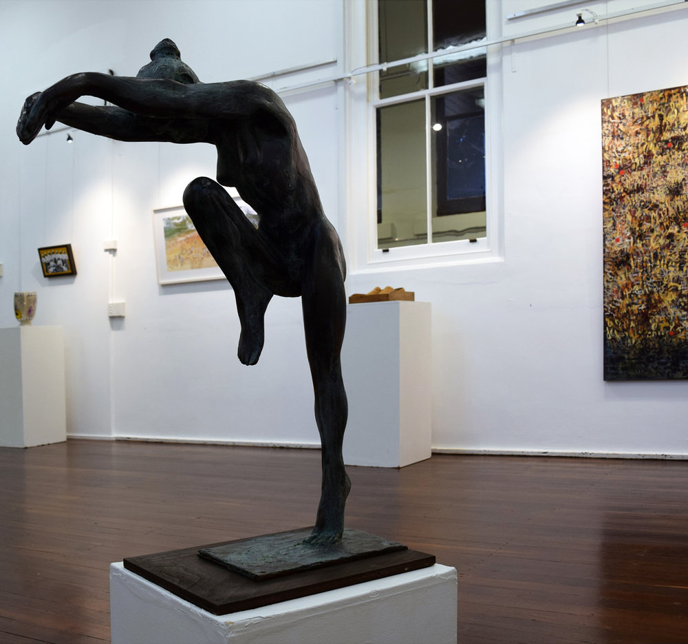 7. Robert Hitchcock,  Susan Dancing,  1991, cast resin, $10,000
