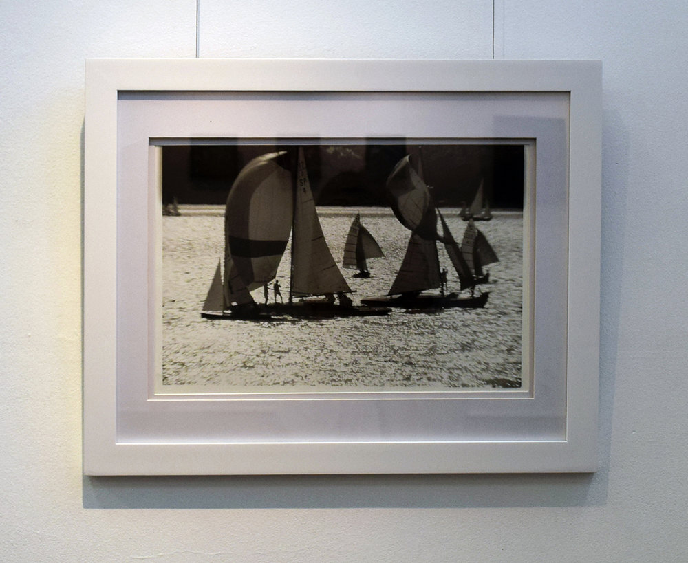 8. Richard Woldendorp AM,  Yachts Racing, Swan River,  1962, vintage gelatin silver black and white print, printed in 1962, $500 unframed reprints; vintage print NFS