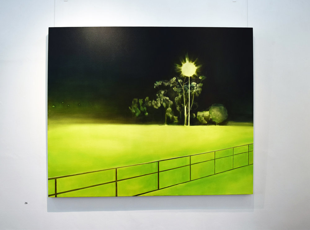26. Fiona Harman,  Limelight,  2018, oil on canvas, $1,600