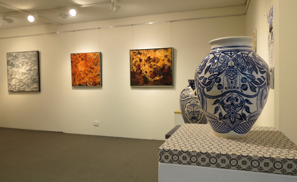 'Landscapes of the Mind' gallery view