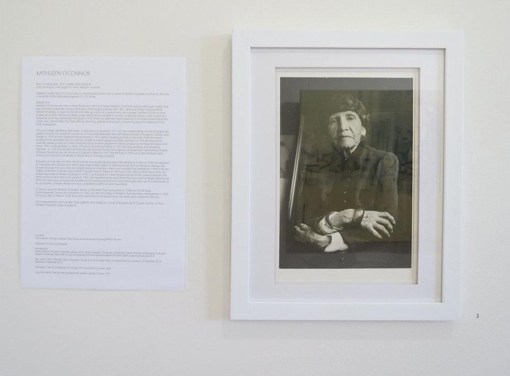 3. Richard Woldendorp AM, 'Kathleen O'Connor', 1966, Vintage gelatin silver black and white print, 39 x 28 cm, NFS