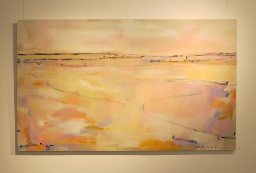 12. Jo Darvall, 'Salt Water Country', 2018, Oil on canvas, 120 x 200cm, $9,800