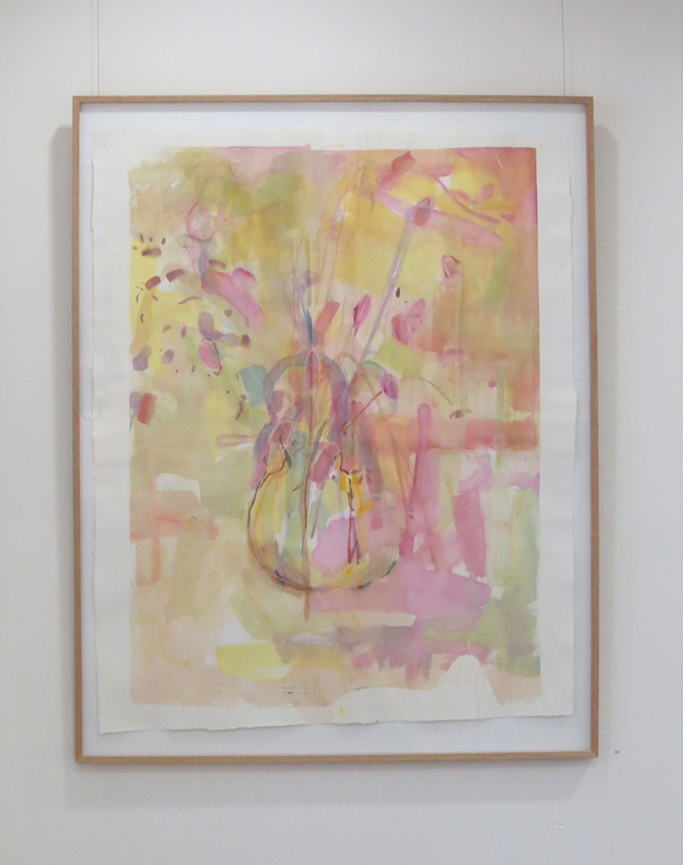 25. Jo Darvall, 'Still Life Floating #3', 2015, Watercolour chine-collé, 137 x 126cm, $4,800