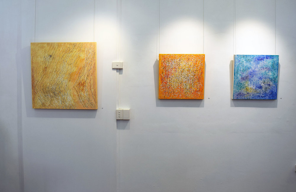 'The Space Between Lines' Gallery View