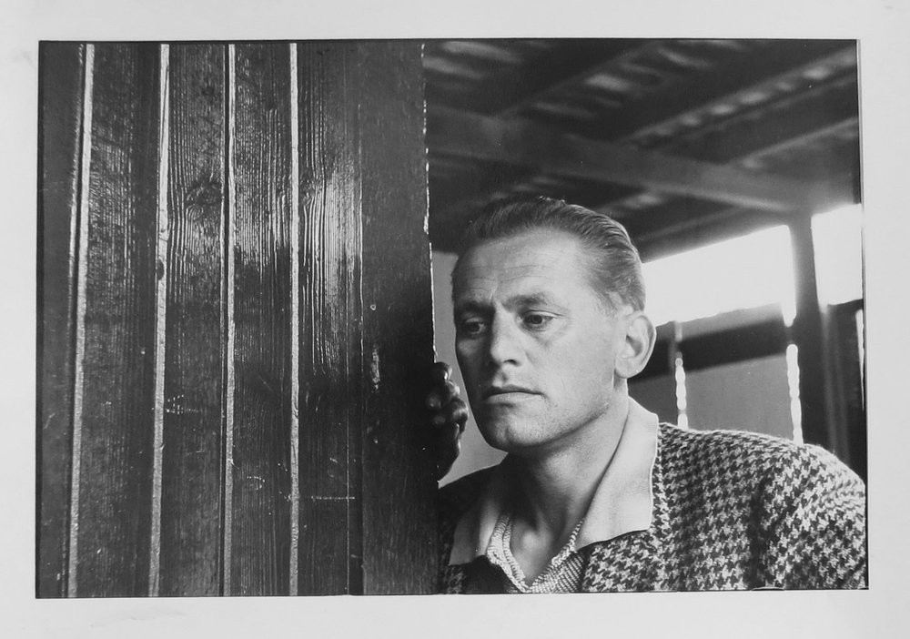 1. Richard Woldendorp, 'Self Portrait, Darlington WA', BW25a, taken and printed in 1961, Vintage Print